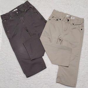 🅱️undle of 2 Adjustable Waist Pants
